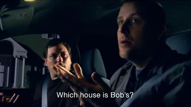 Imagen del spot Bob's House de Pepsi con los dos actores sordos
