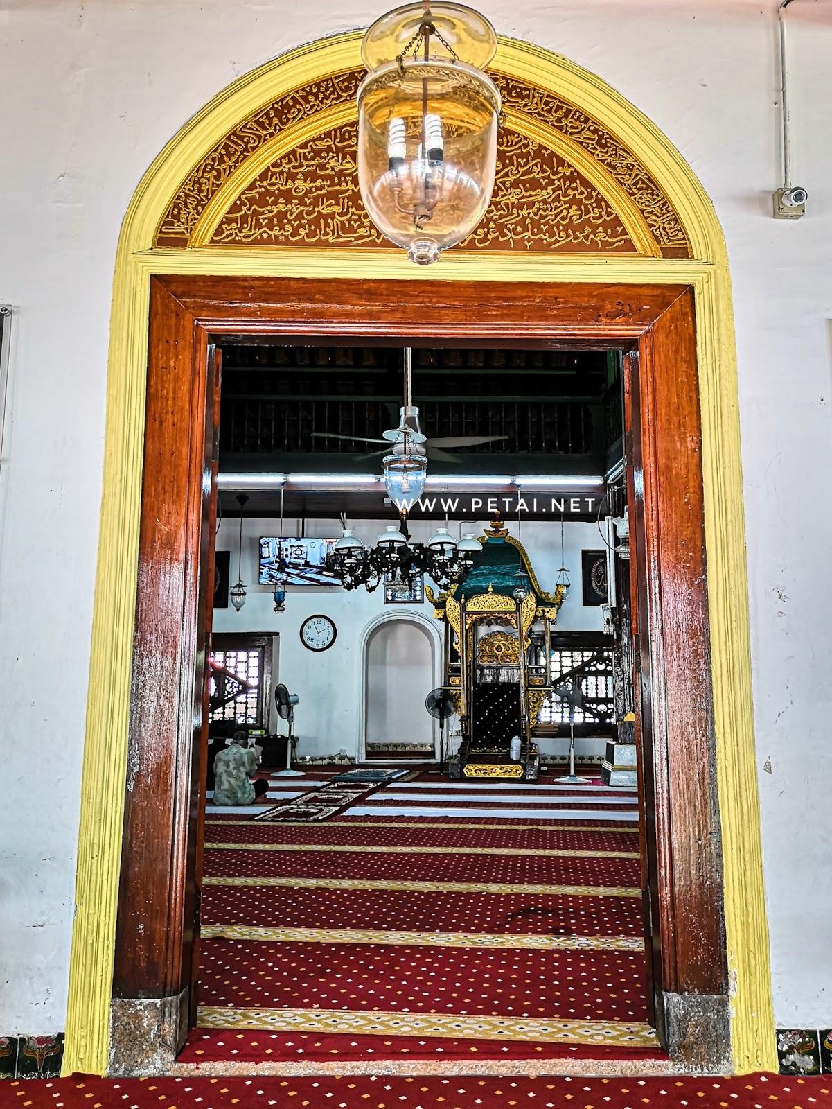 Masjid Kampung Hulu, Melaka - pintu