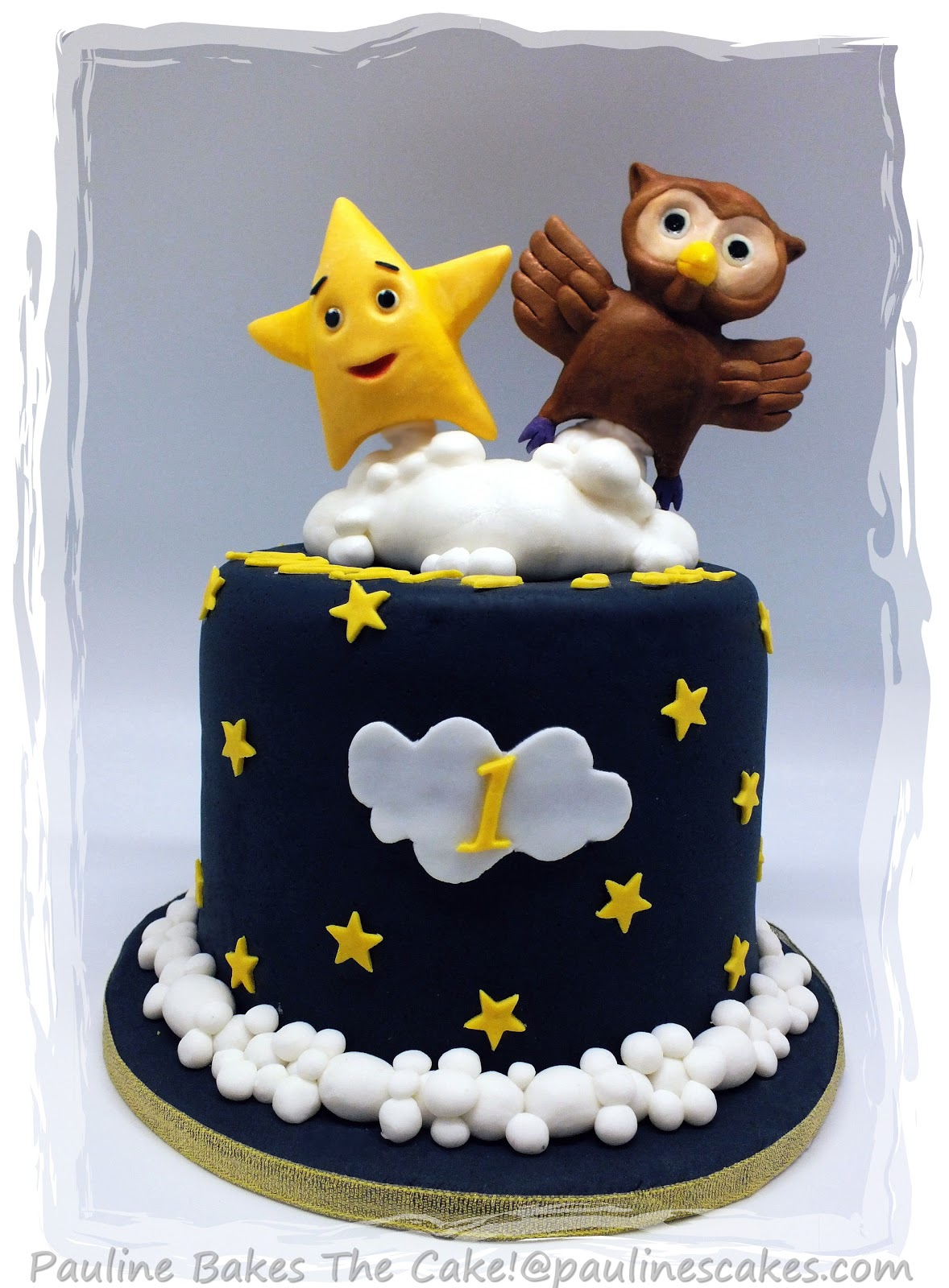 How To Make A Twinkle Twinkle Little Star Cake Topper