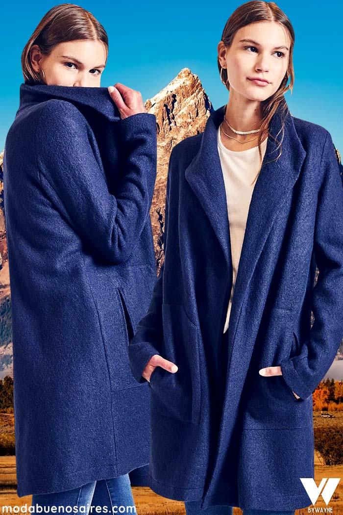 tapados de moda invierno 2021