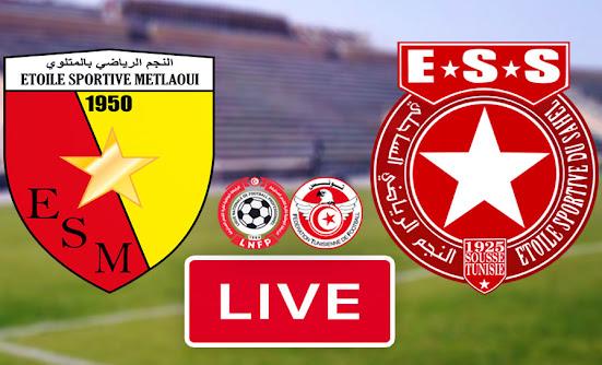Live Streaming Match Etoile Sportive Du Sahel vs Étoile sportive de Métlaoui
