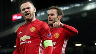 Rooney Cetak Rekor dalam Laga Manchester United vs Feyenoord 4-0