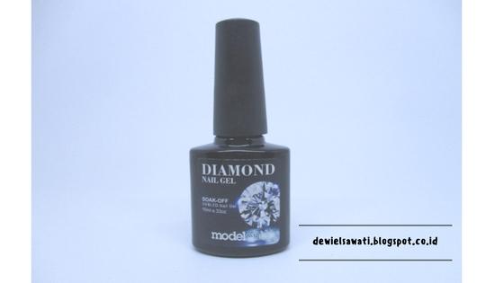 Modelones Diamond Nail Gel Review [Cat Kuku Glitter]