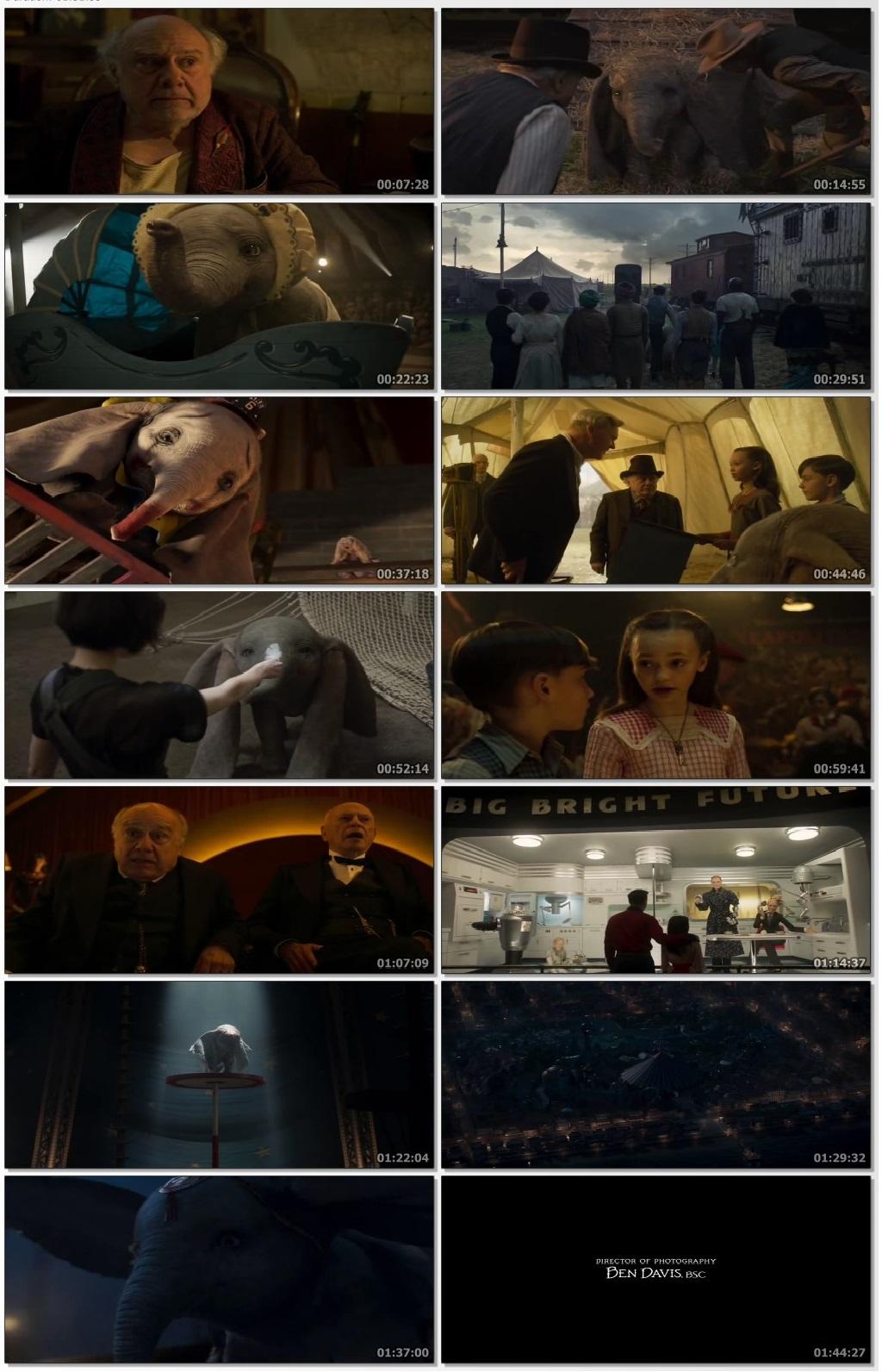 Dumbo 2019 Full Movie Dual Audio (Hindi-English) DVDRip 720p 3