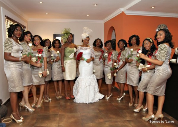 Bellanaija Chief Bridesmaid Dresses In Nigeria Bridal