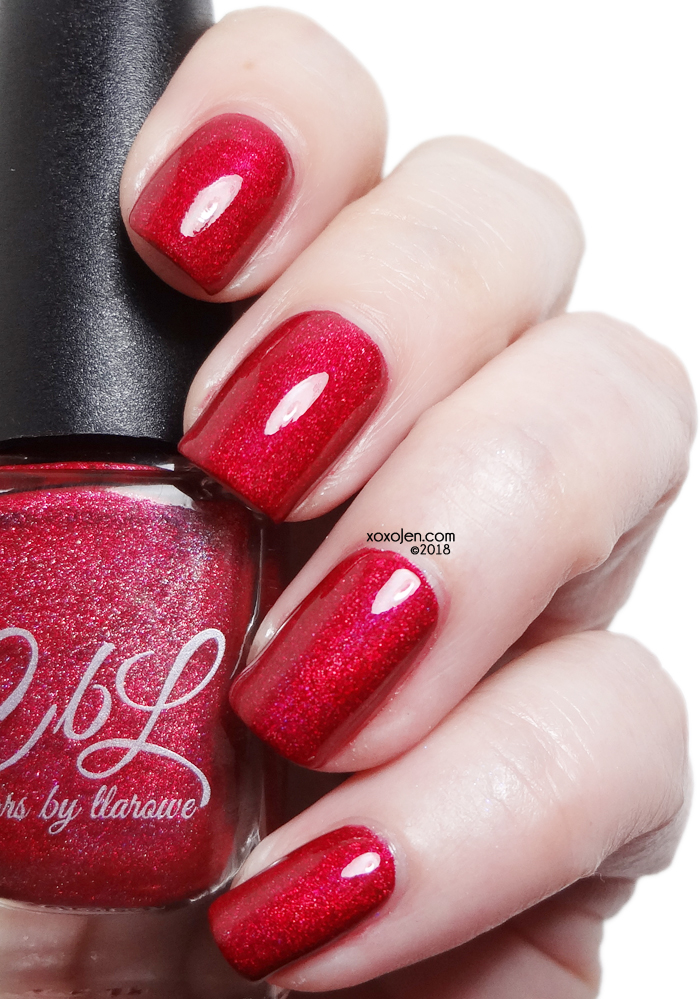 xoxoJen's swatch of Colors By Llarowe The Lazy Song