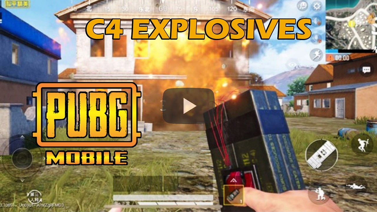 C4 is now available in PUBG Mobile