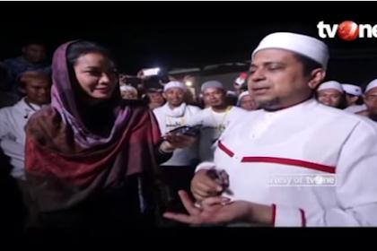 Makjleb! Soal Reuni 212 Ustadz Haikal Hasan Wawancara Dengan Tv One: Semoga Banser Ikutan!