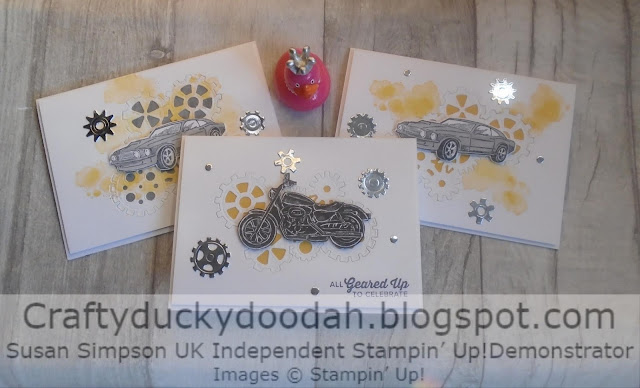 Classic Garage Suite, Craftyduckydoodah!, Geared Up Garage, Stampin' Up! UK Independent Demonstrator Susan Simpson, Supplies available 24/7 from my online store