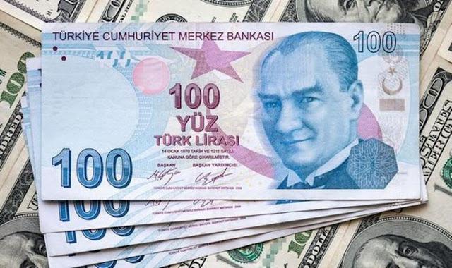 سعر صرف الليرة التركية اليوم الأربعاء 2/12/2020