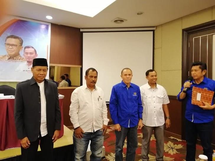 Wajah Baru Haraapan Baru Pengurus DKP PWI Sulsel