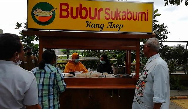 Mencicipi Legitnya Bubur Sukabumi khas Wong Solo