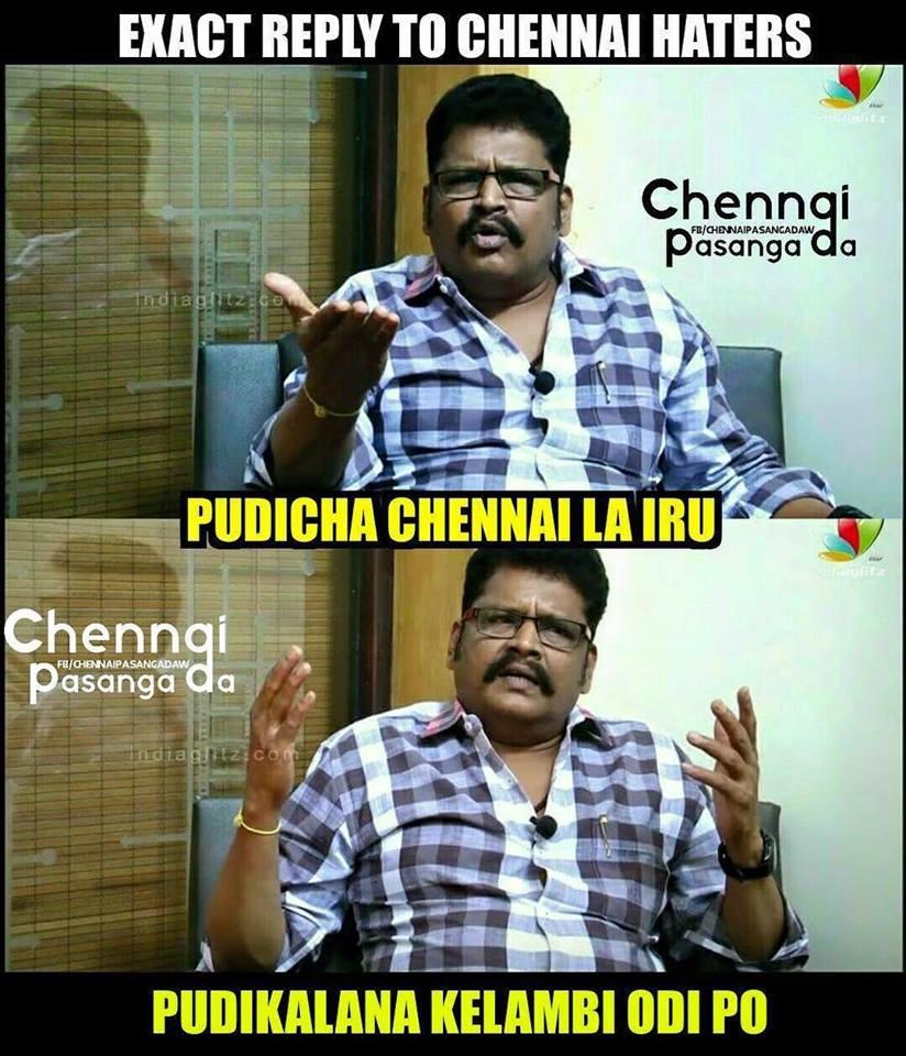 Chennai day meme