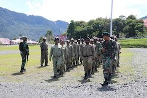 Latih Satuan Polisi Pamong Praja di Puncak Jaya, Ini yang Dilakukan Satgas Pamrahwan
