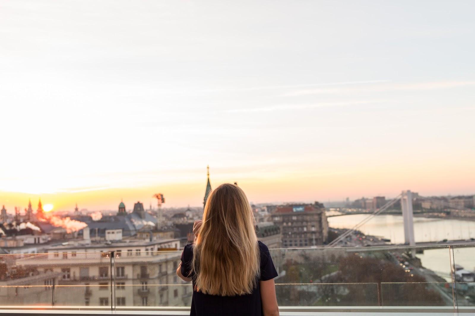 Rooftop budapest marriott hotel