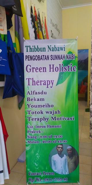 Spanduk dan X Banner Pengobatan Terapi