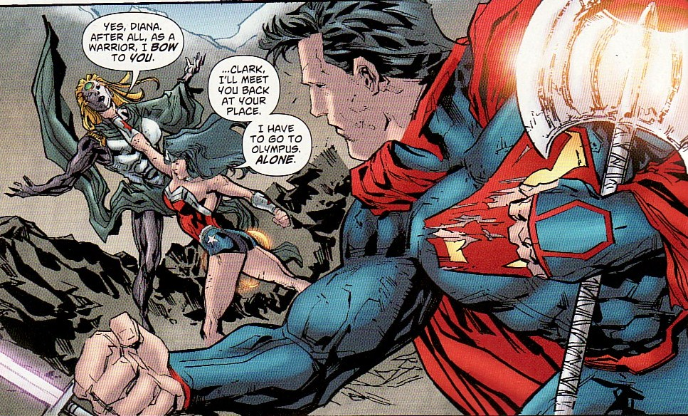 By Ken Levine Wonder Woman My Review: Supergirl Comic Box Commentary: Review: Superman/Wonder