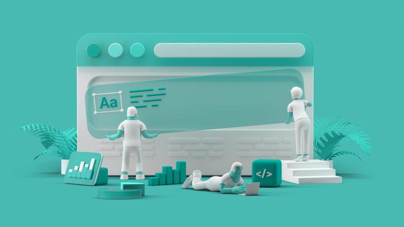 Diseño web licencia Adobe Stock para Homo-Digital