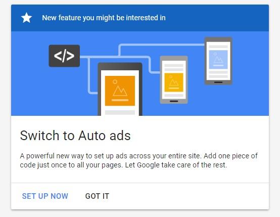 Fitur Baru Adsense, Begini Cara Setup Auto Ads Terbaru