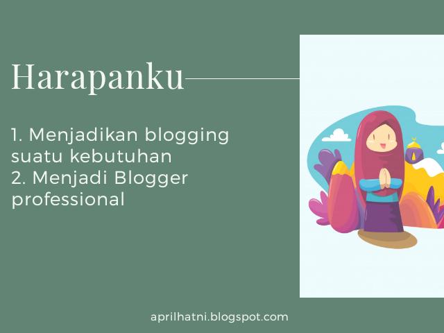 harapanku dari blogging