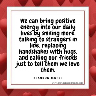 Bring positive energy and smile more