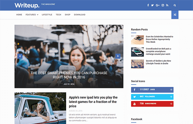 Best fast and responsive templates for blogger