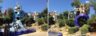 jardim dos taros fonte sol - Jardim do Tarô de Niki de Saint-Phalle