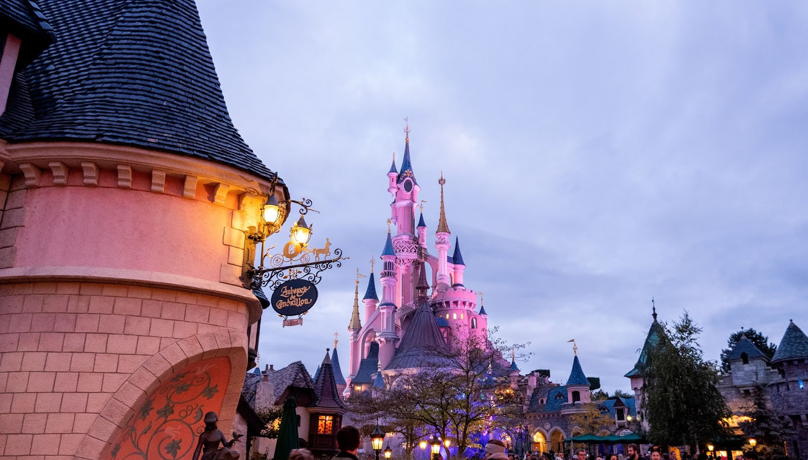 Fantasyland at Disneyland Paris