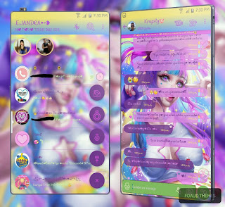 Sexy Girl Theme For YOWhatsApp & Fouad WhatsApp By Ale