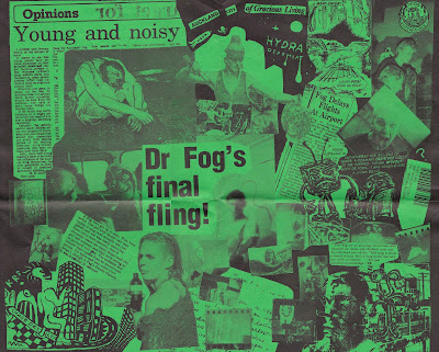 Forgotten New Zealand 45s Fog Fatman With A Big Dork 1985
