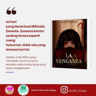 review novel la venganza