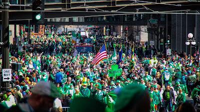 Philadelphia St Patricks day 2018 parade