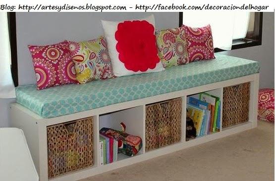 Muebles funcionales para espacios peque os decoraci n for Ideas para el hogar espacios pequenos
