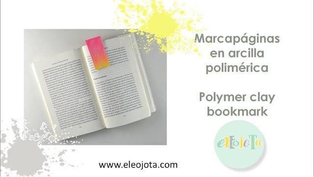 marcapaginas arcilla polimerica