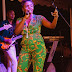 Pregnant Simi Rocks Her 'Baby Bump' On Stage (Photos)