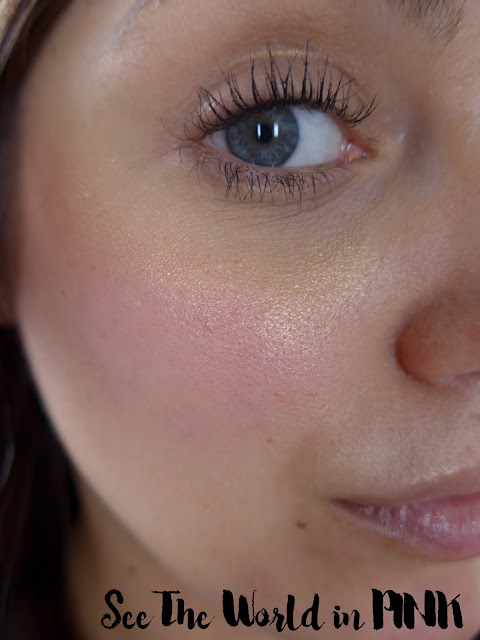 becca x jaclyn hill champagne glow collection face palette review makeup look prosseco pop