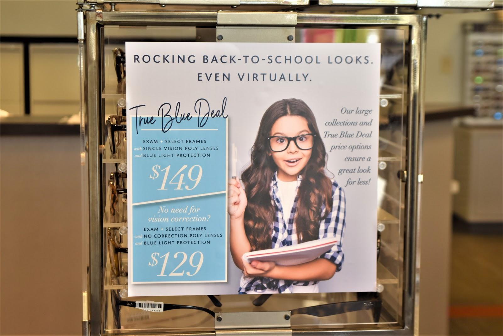 Back-to-School True Blue Deal at MyEyeDr.