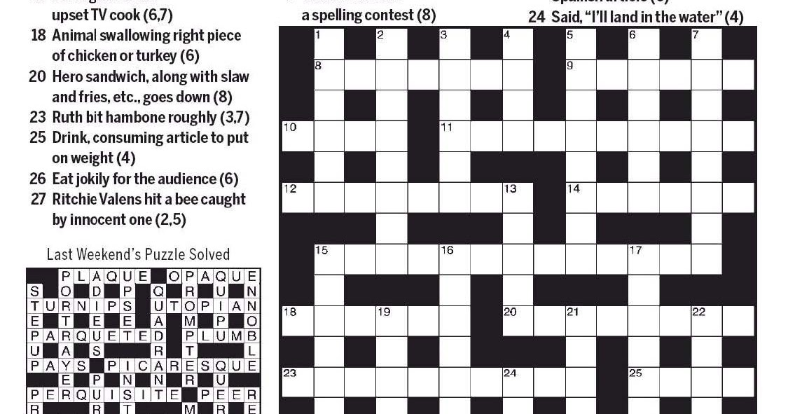 National Post Cryptic Crossword Forum Saturday November 16 2019 Gunfight At The O K Corral