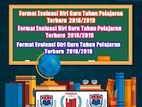 Format Evaluasi Diri Guru Tahun Pelajaran Terbaru 2018/2019
