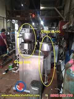 Các bộ phận của máy đóng gói gia vị 2 trong 1 Vĩnh Phát