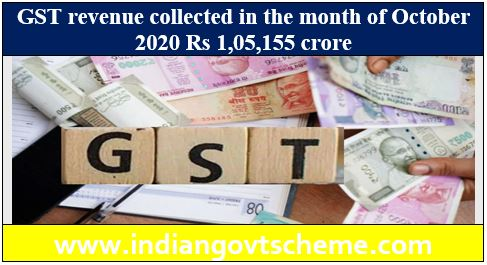 GST revenue collected