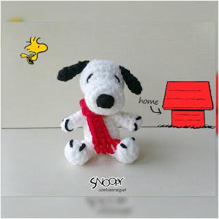 patron amigurumi Snoopy cosicasraquel
