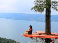 Bukit Indah Simarjarunjung, Air Terjun, Lokasi & Rute Wisata