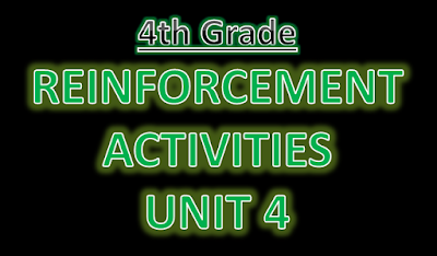 http://englishmilagrosa.blogspot.com.es/2017/01/reinforcement-exercises-4th-grade-unit-4.html