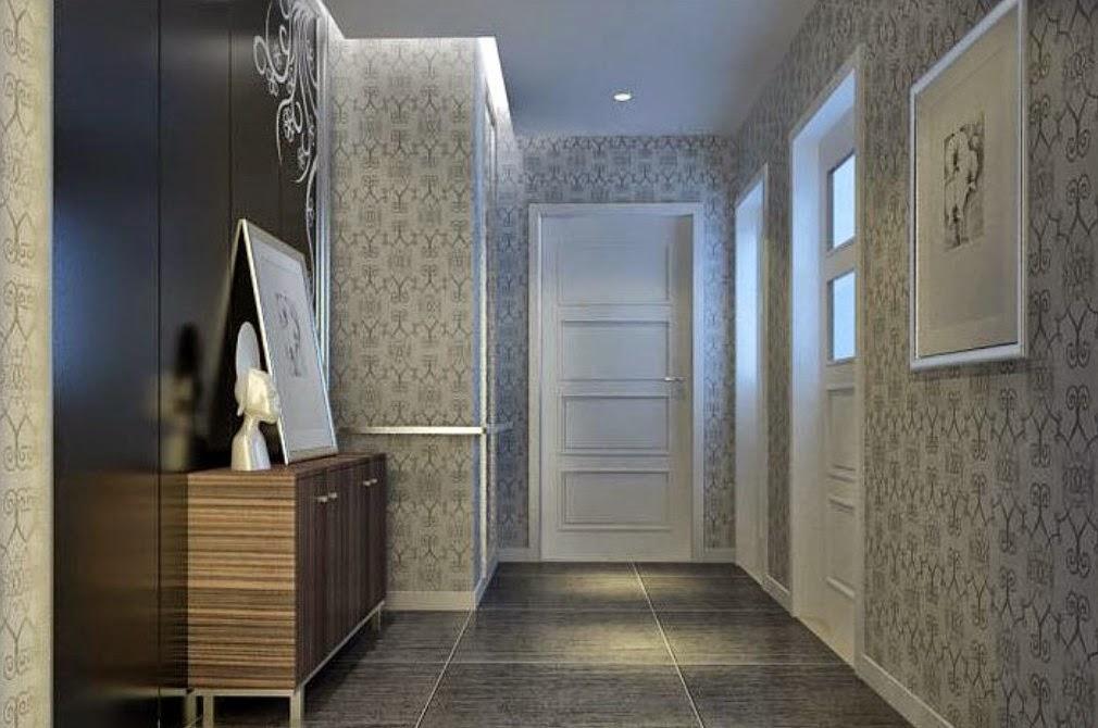 C mo decorar el pasillo con papel pintado ideas para decorar for Papel tapiz de patron para el pasillo