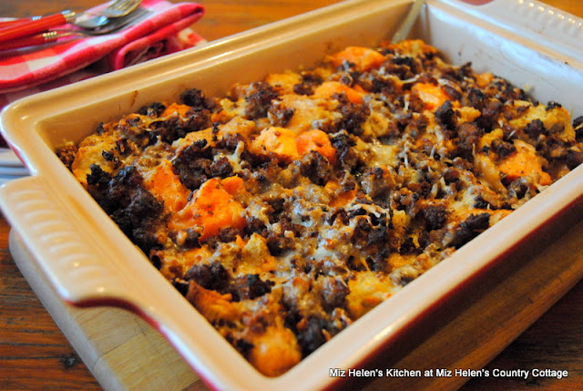 Sweet Potato Breakfast Bake at Miz Helen's Country Cottage