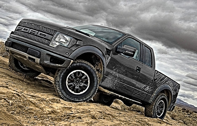 black-ford-raptor-f-150-wallpaper-image-hd