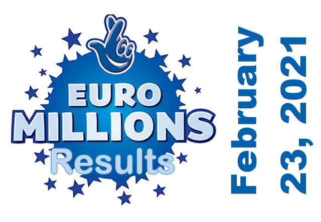 EuroMillions Results for Tuesday, February 23, 2021