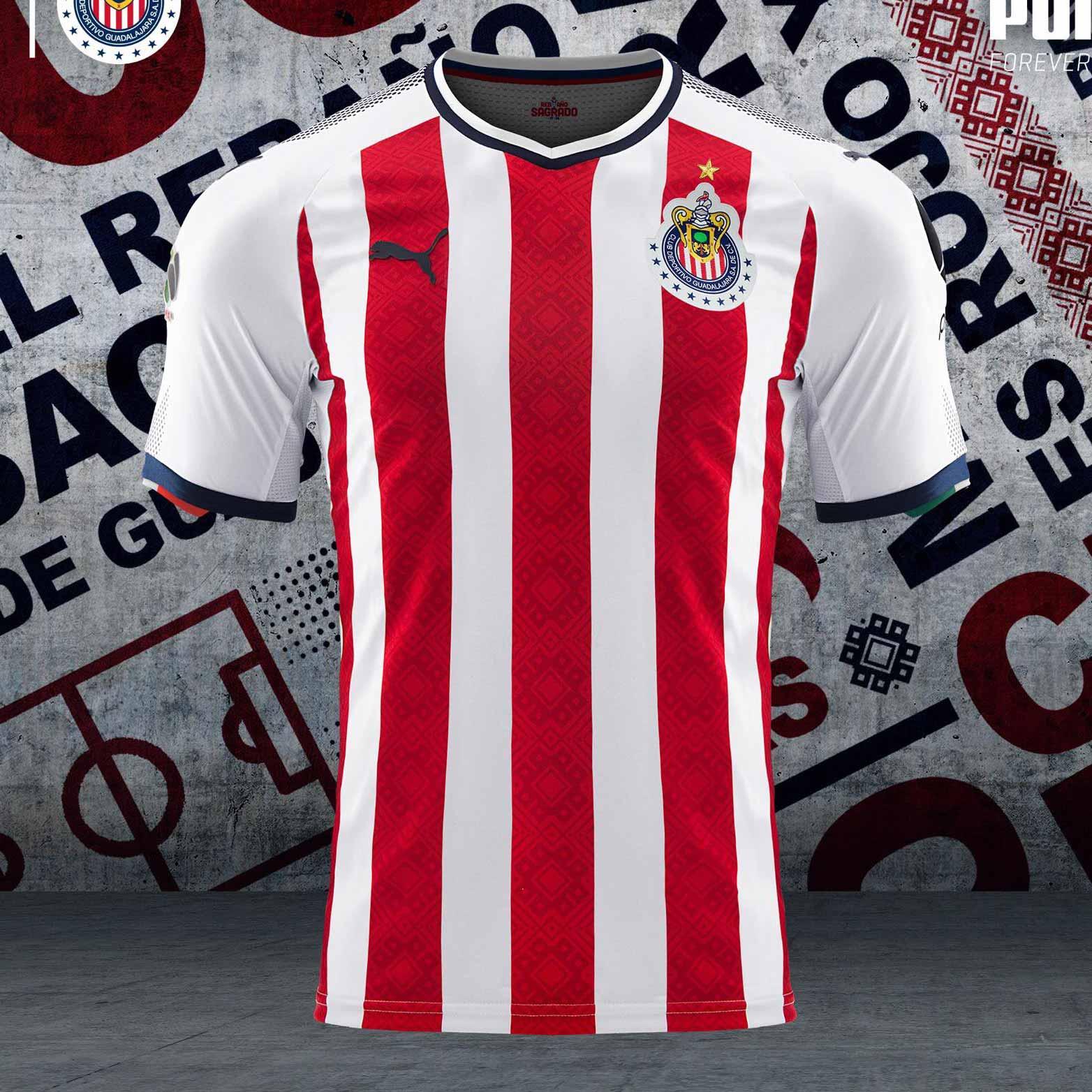 Chivas 17-18 Home Kit Revealed - Footy Headlines