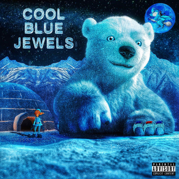 Riff Raff & DJ Afterthought - Cool Blue Jewels  Cover